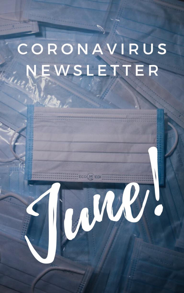 Coronavirus newsletter June
